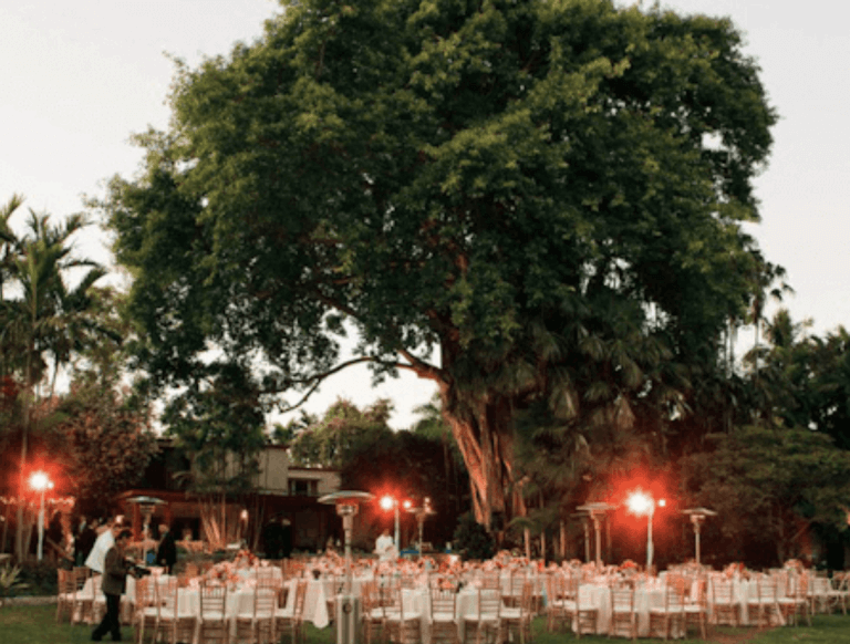 The Kampong Best Miami Weddings